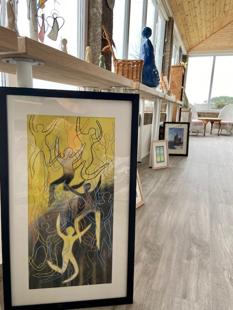 artwork on display in Tremorran and The Angel Gallery in Cornwall