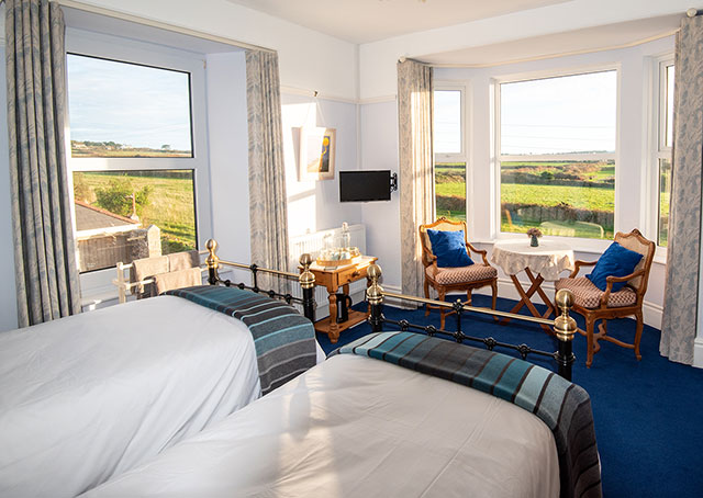 the corpus christi room within tremorran bed & breakfast cornwall