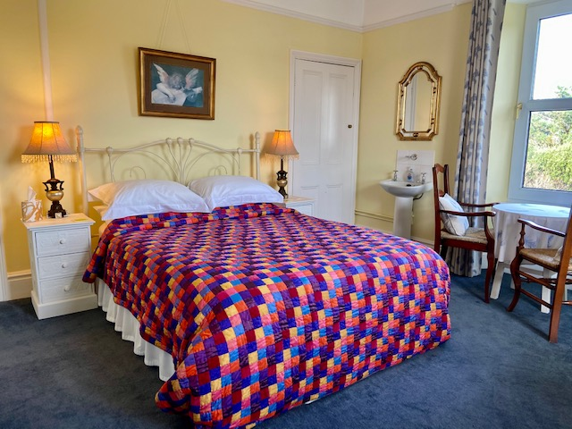 the levant room within tremorran bed & breakfast cornwall
